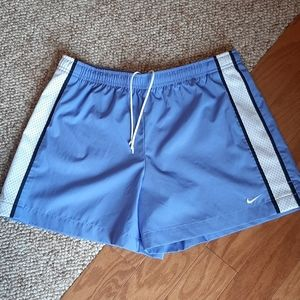 Womens Nike Blue/White Shorts size Medium